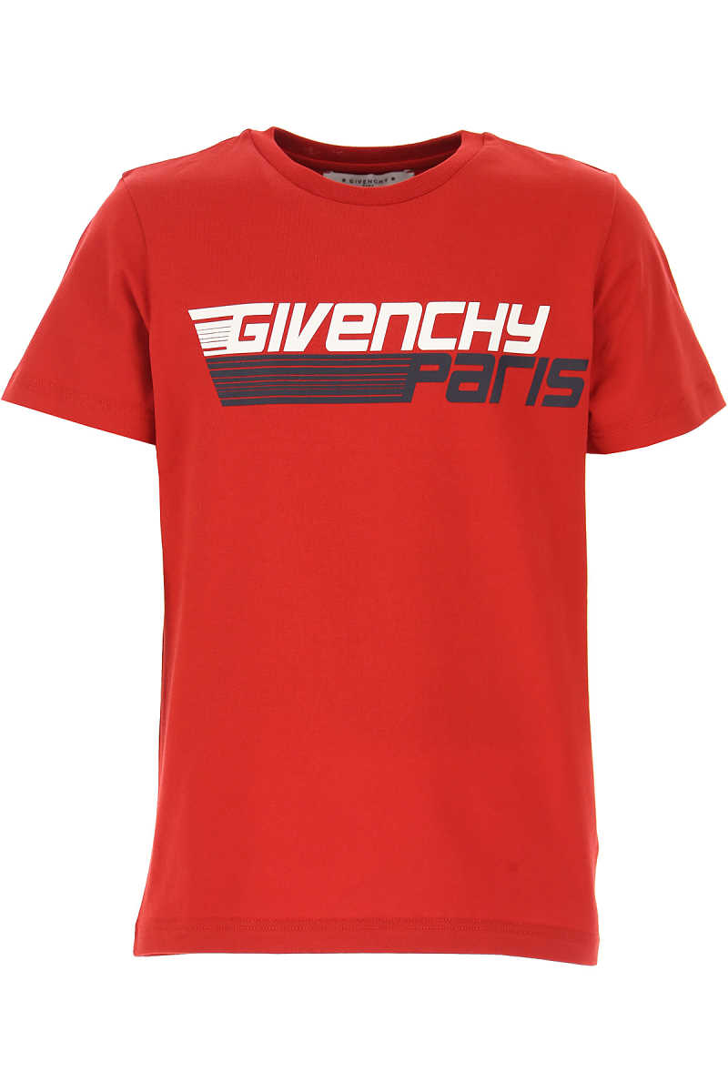 Givenchy Kids T-Shirt for Boys On Sale Red SE - GOOFASH