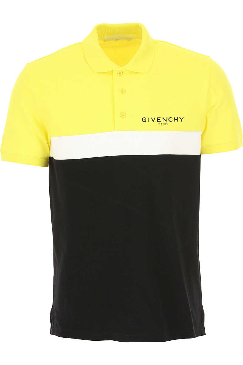 Givenchy Polo Shirt for Men Yellow SE - GOOFASH
