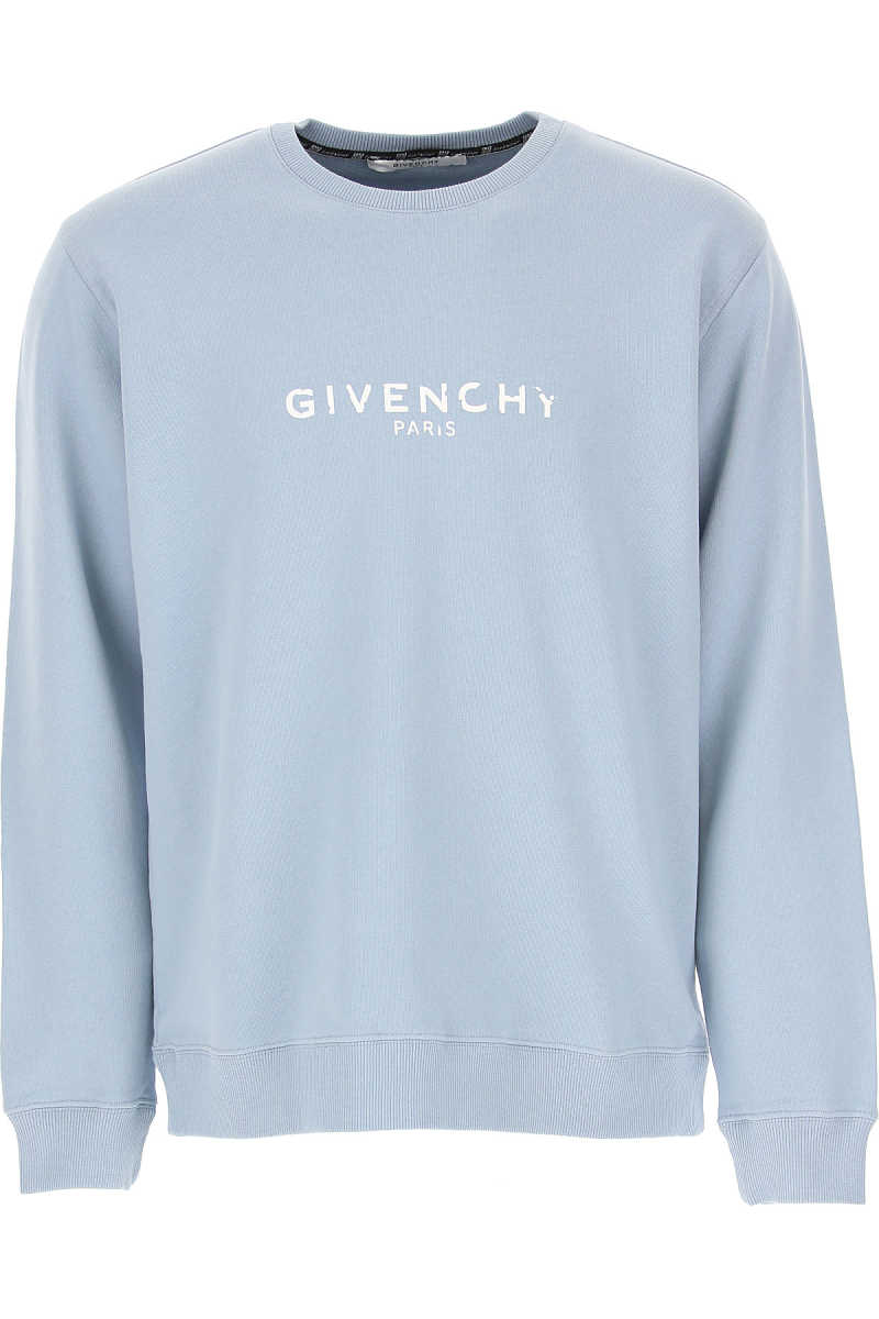 Givenchy Sweatshirt for Men Pale Blue SE - GOOFASH