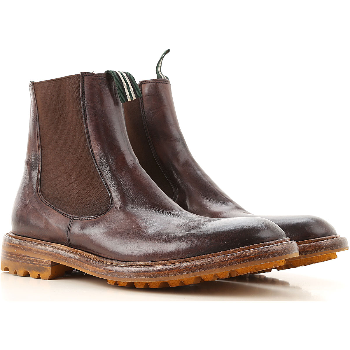 Green George Boots for Men Booties On Sale in Outlet USA - GOOFASH