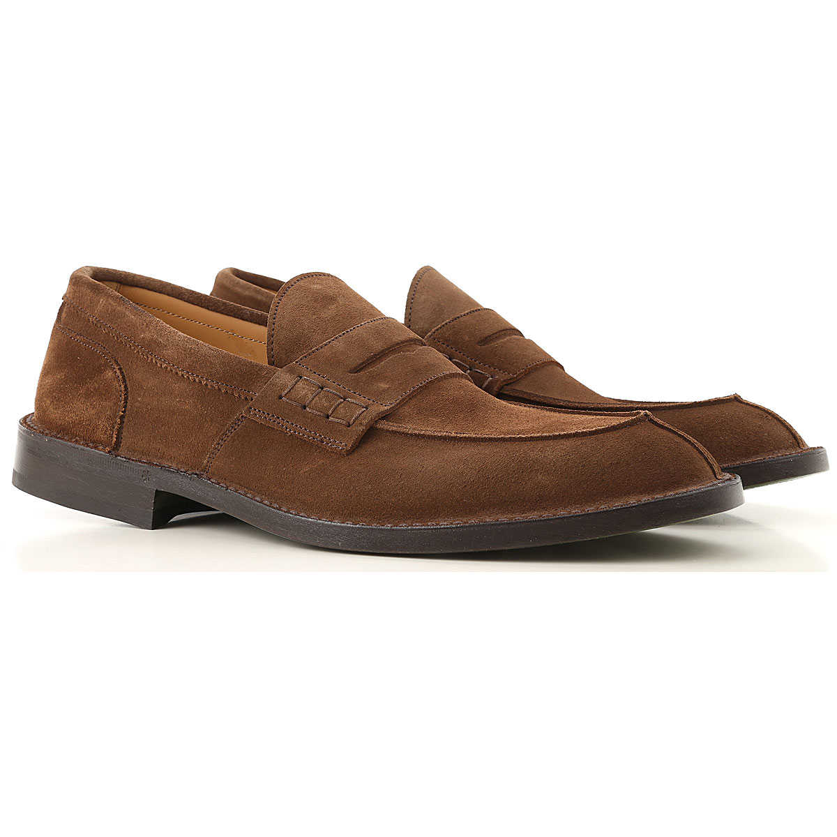 Green George Loafers for Men Mole USA - GOOFASH