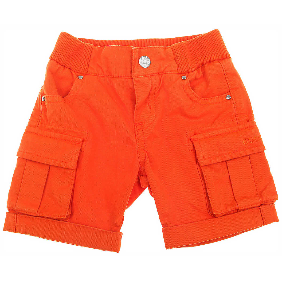 Gucci Baby Shorts for Boys in Outlet Orange USA - GOOFASH