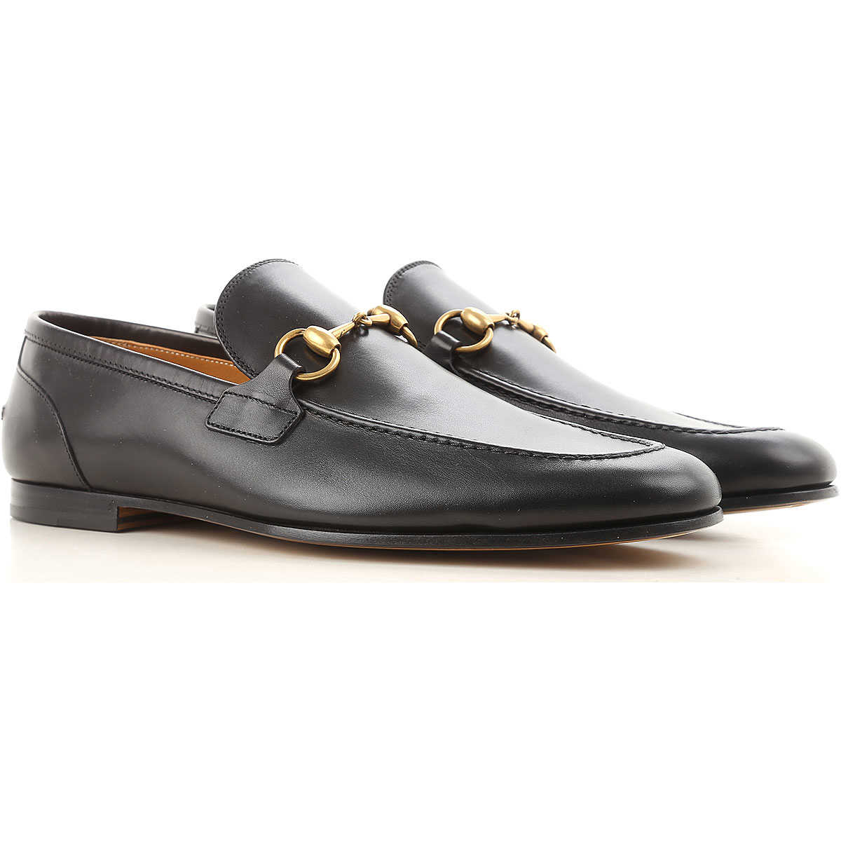 Gucci Loafers for Men Black USA - GOOFASH