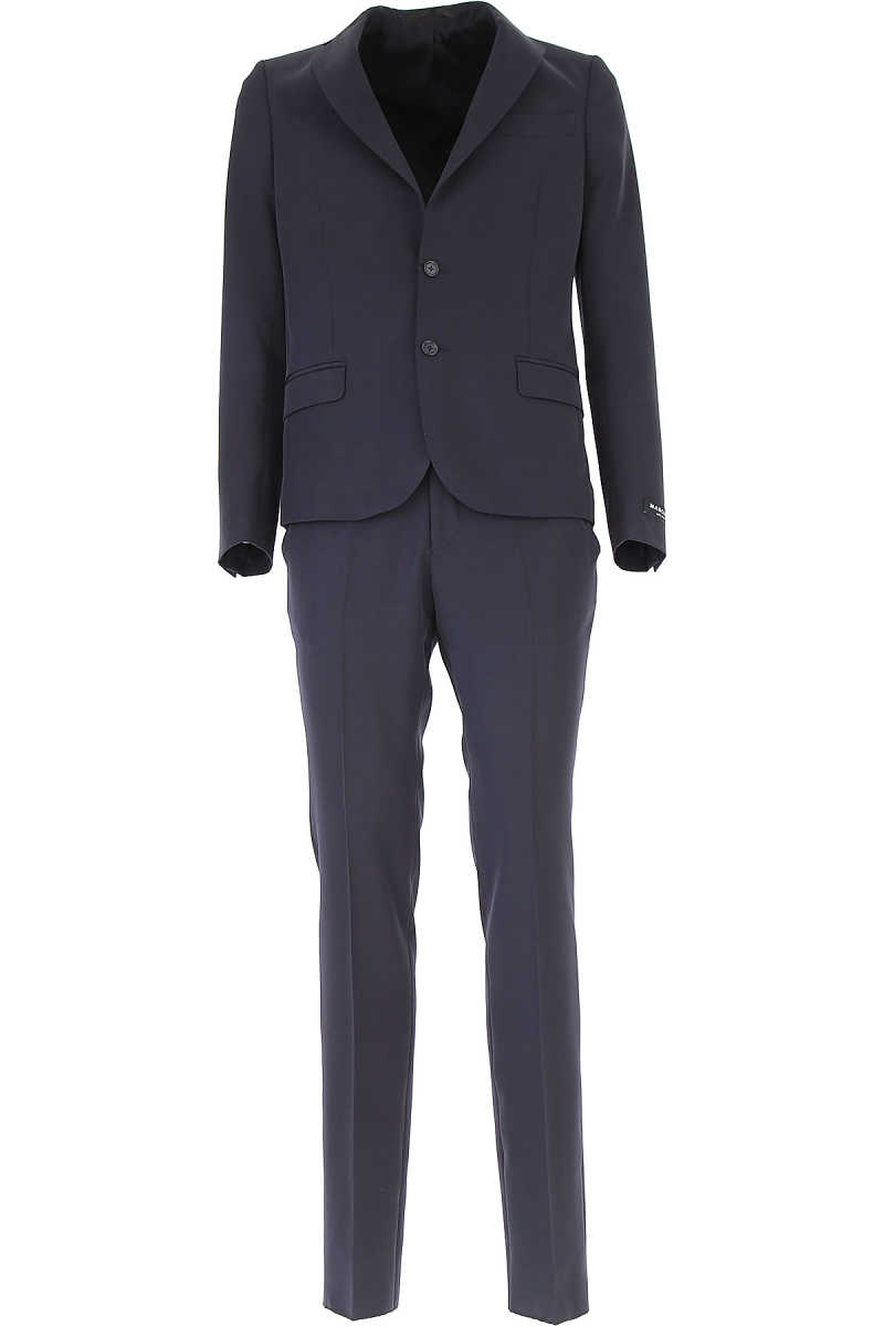 Guess Men's Suit Navy Blue USA - GOOFASH