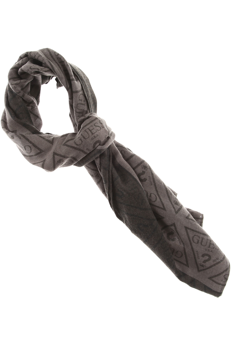 Guess Scarf for Men On Sale Grey SE - GOOFASH