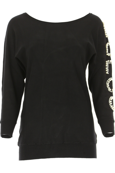 Guess Sweater for Women Jumper On Sale Black SE - GOOFASH