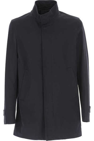 Herno Men's Coat On Sale Cotton SE - GOOFASH