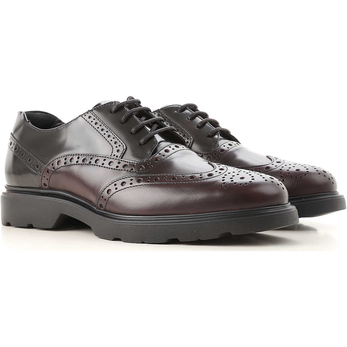 Hogan Lace Up Shoes for Men Oxfords Derbies and Brogues On Sale USA - GOOFASH