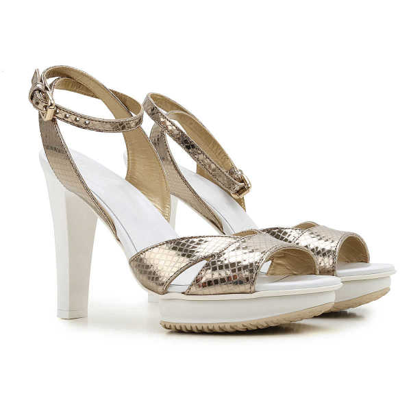 Hogan Sandals for Women On Sale in Outlet Champagne SE - GOOFASH