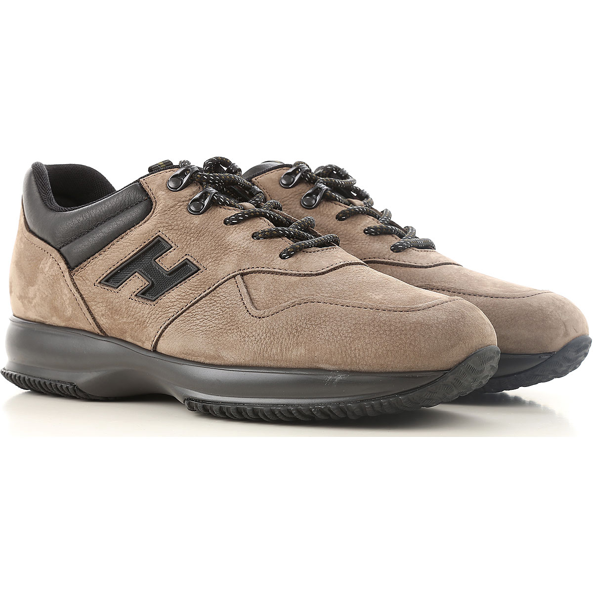 Hogan Sneakers for Men On Sale in Outlet Turtledove Grey SE - GOOFASH