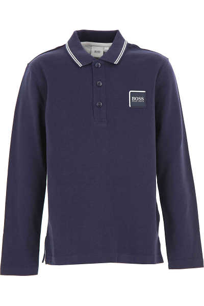Hugo Boss Kids Polo Shirt for Boys navy USA - GOOFASH