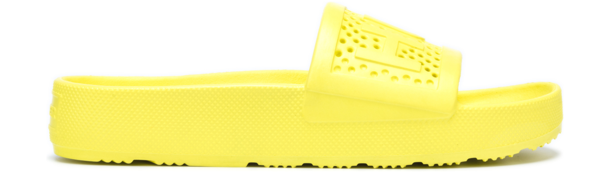 Hunter Slippers Yellow UK - GOOFASH