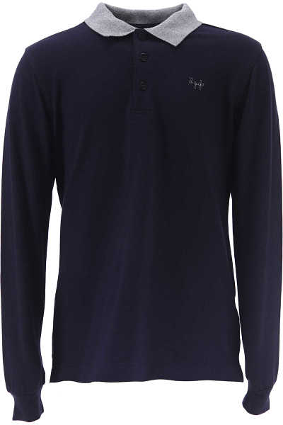 Il Gufo Kids Polo Shirt for Boys in Outlet Blue USA - GOOFASH