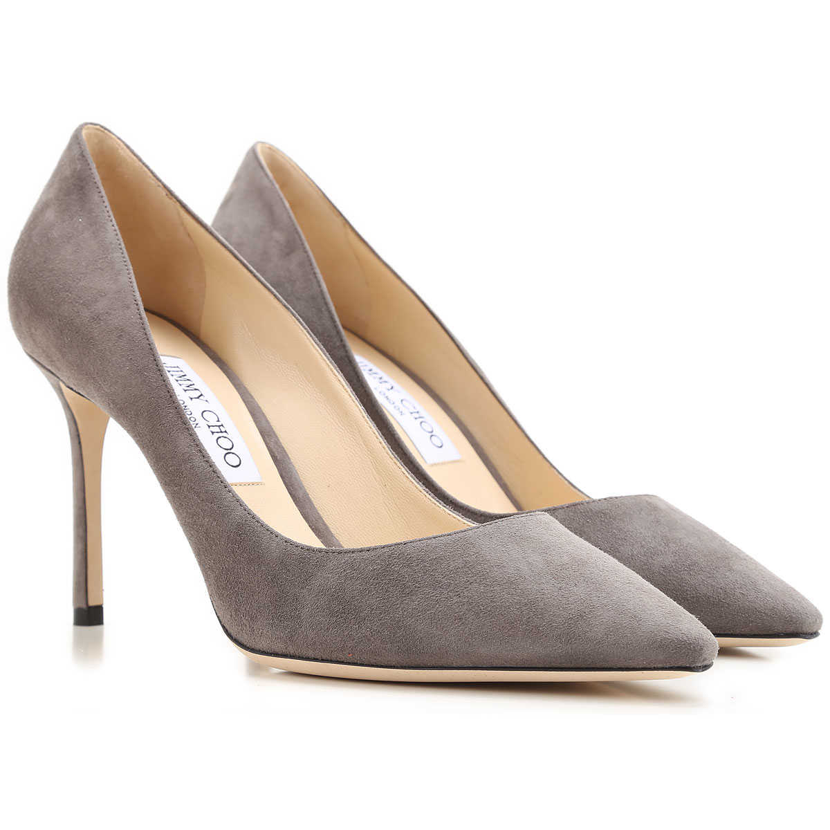 Jimmy Choo Pumps & High Heels for Women Taupe Grey USA - GOOFASH