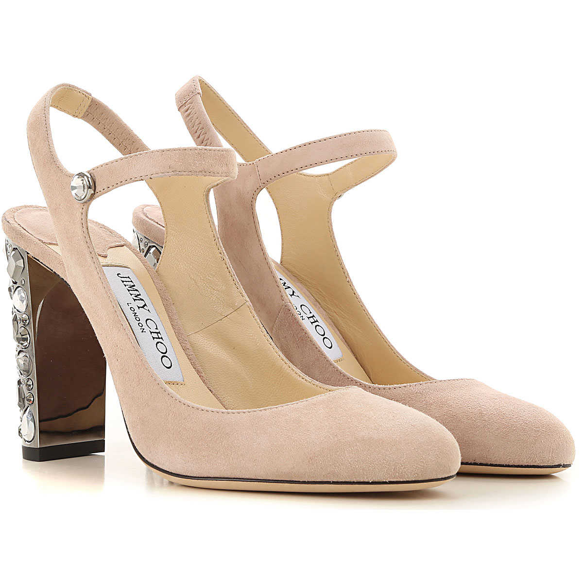 Jimmy Choo Pumps & High Heels for Women in Outlet Light pale pink USA - GOOFASH
