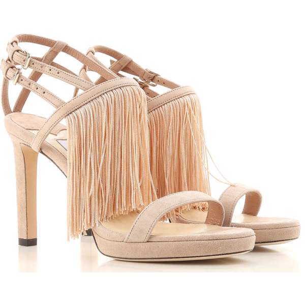 Jimmy Choo Sandals for Women in Outlet ballet pink USA - GOOFASH