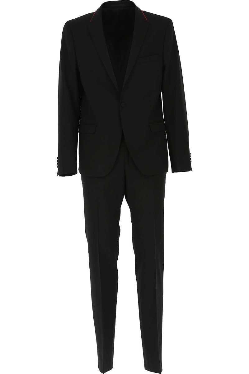 Karl Lagerfeld Men's Suit On Sale Black SE - GOOFASH