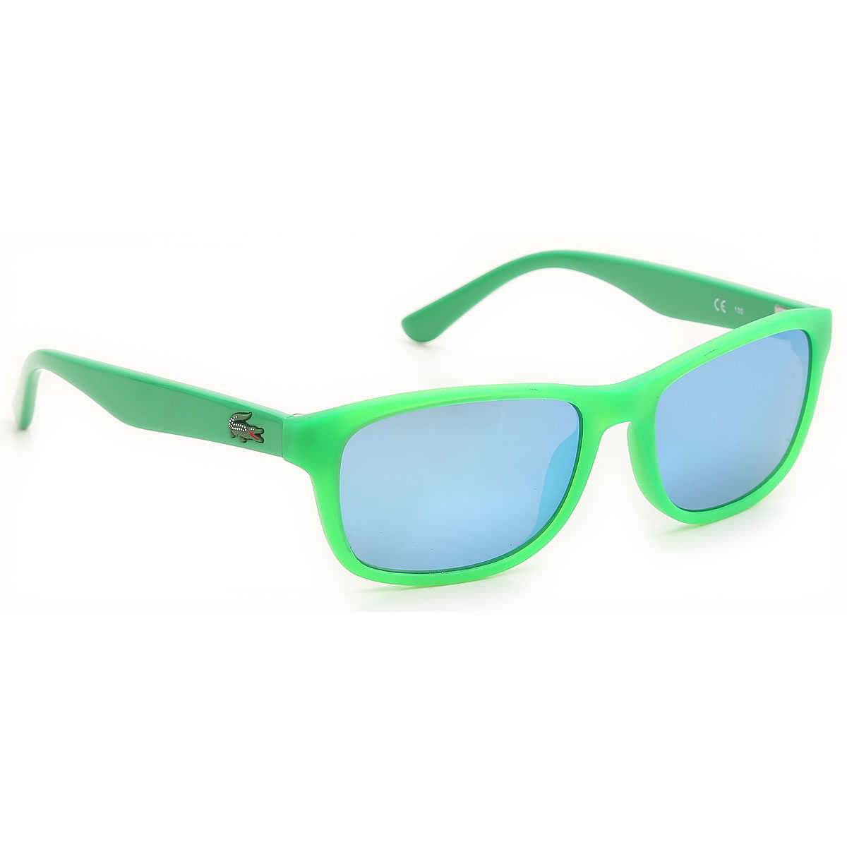 Lacoste Kids Sunglasses for Boys Fluo Matt Green USA - GOOFASH