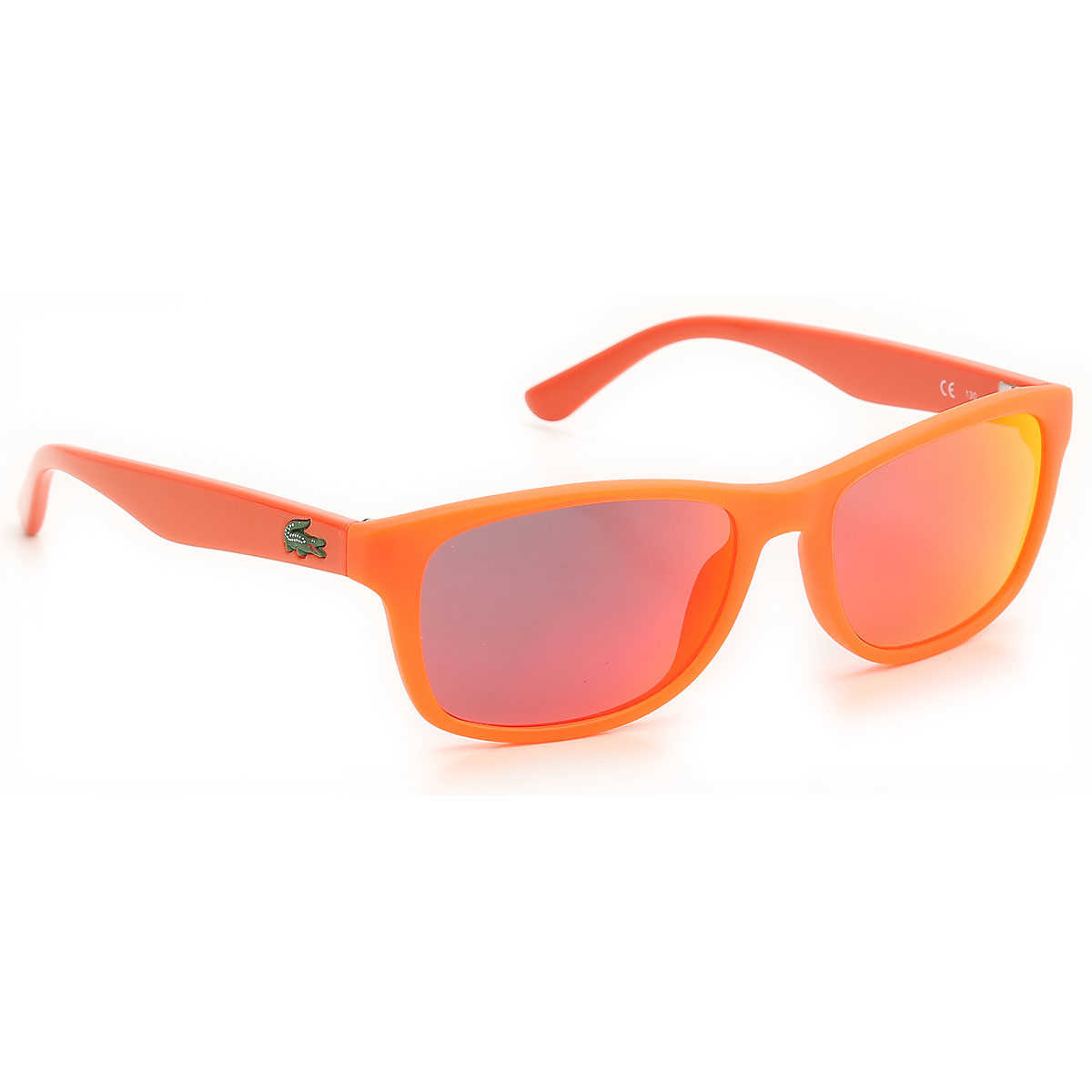 Lacoste Kids Sunglasses for Boys Matt Fluo Orange USA - GOOFASH