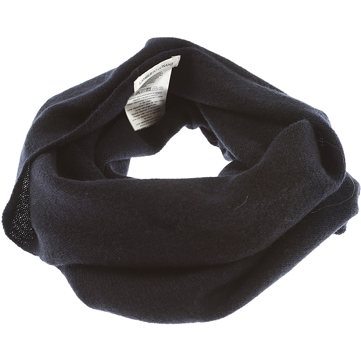 Lamberto Losani Scarf for Women On Sale Dark Midnight Blue SE - GOOFASH