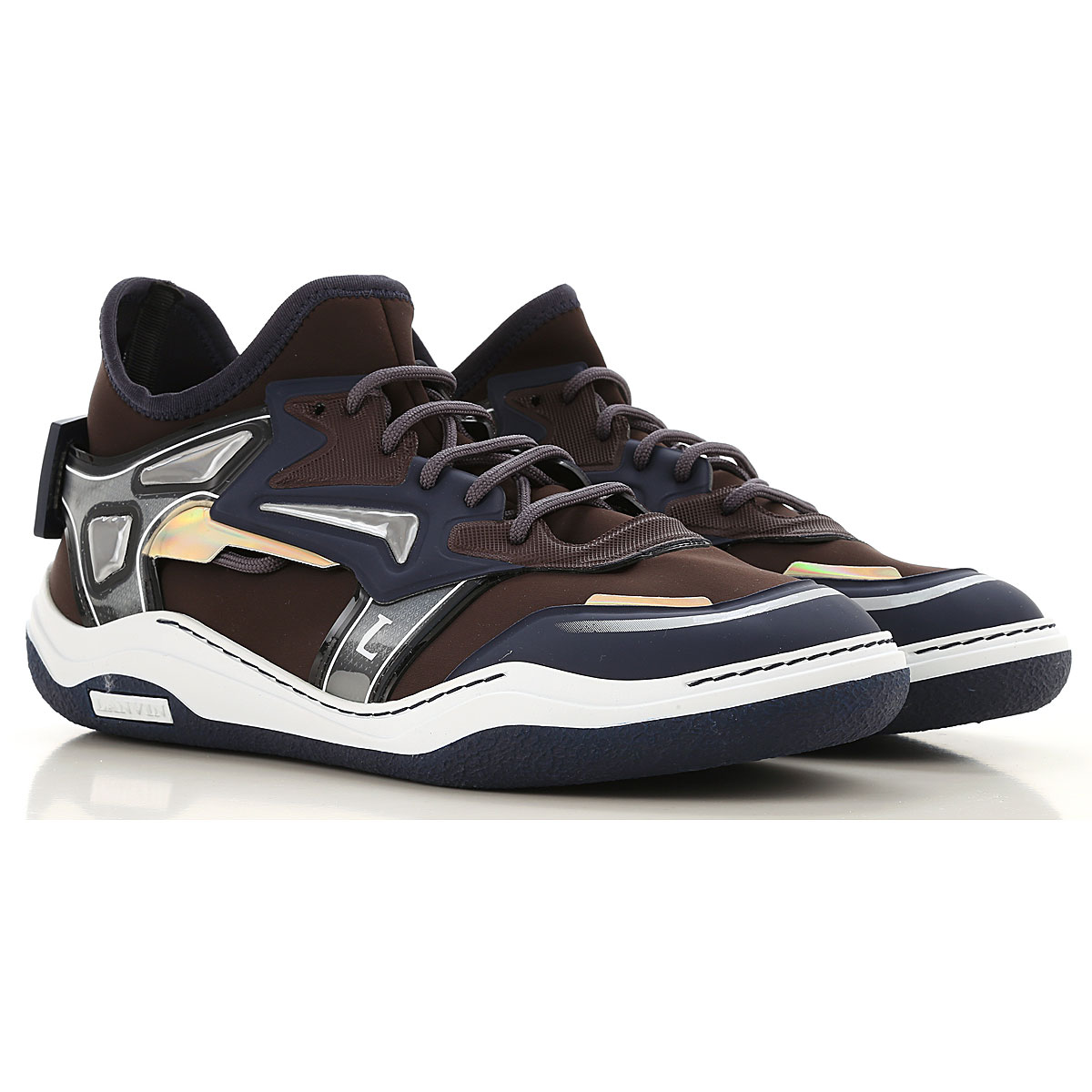 Lanvin Sneakers for Men in Outlet Brown USA - GOOFASH