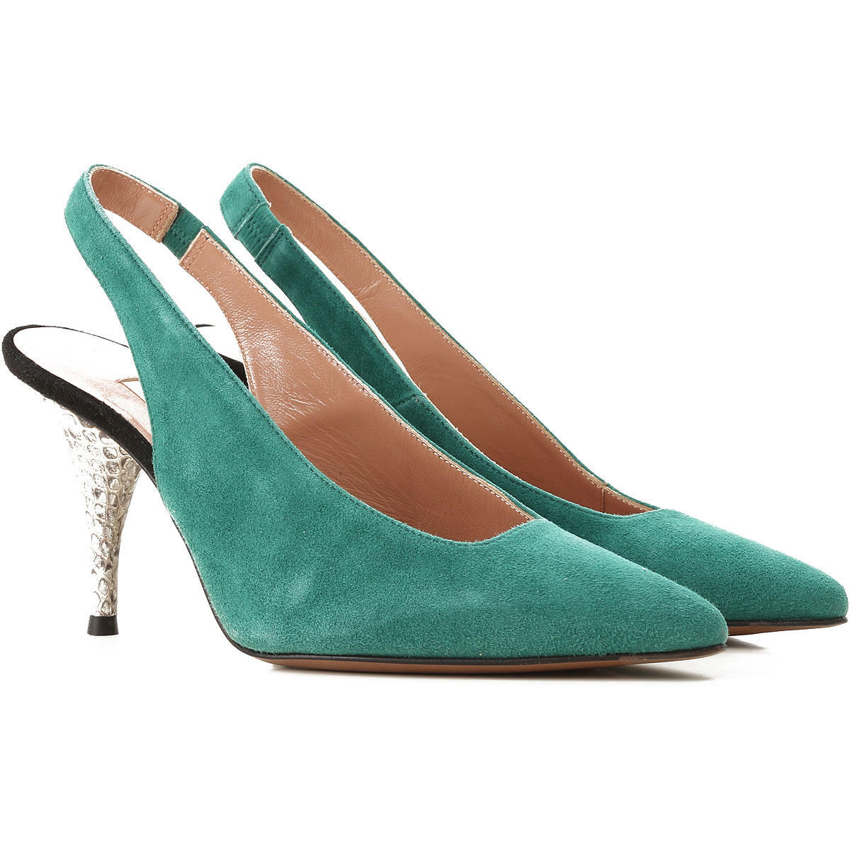 Lautre Chose Pumps & High Heels for Women in Outlet Green USA - GOOFASH