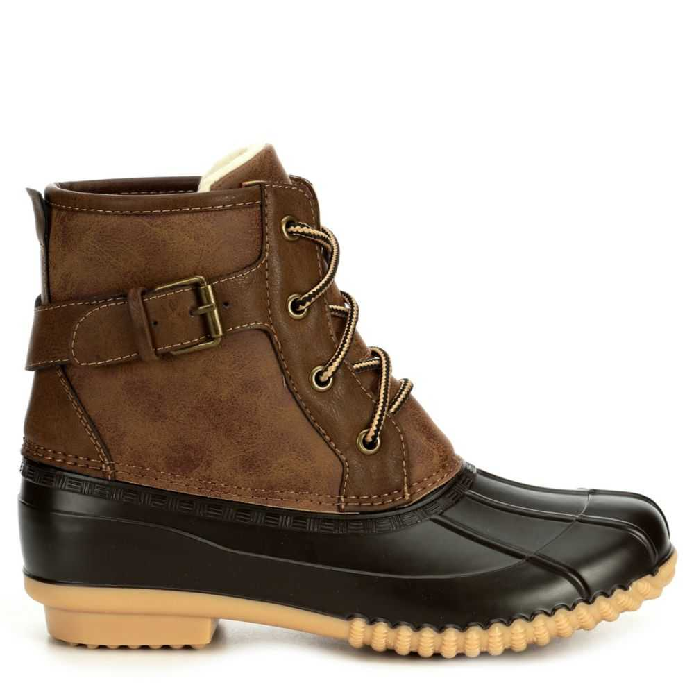 Madden Girl Womens Lacee Brown USA - GOOFASH - Womens LEATHER SHOES