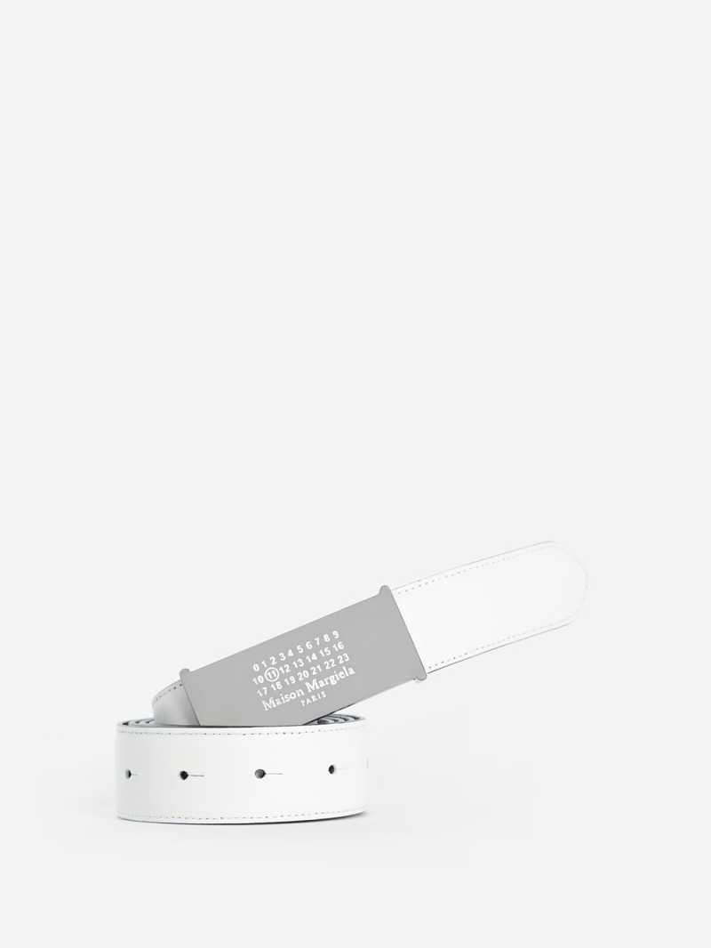 Maison Margiela Belts Black UK - GOOFASH