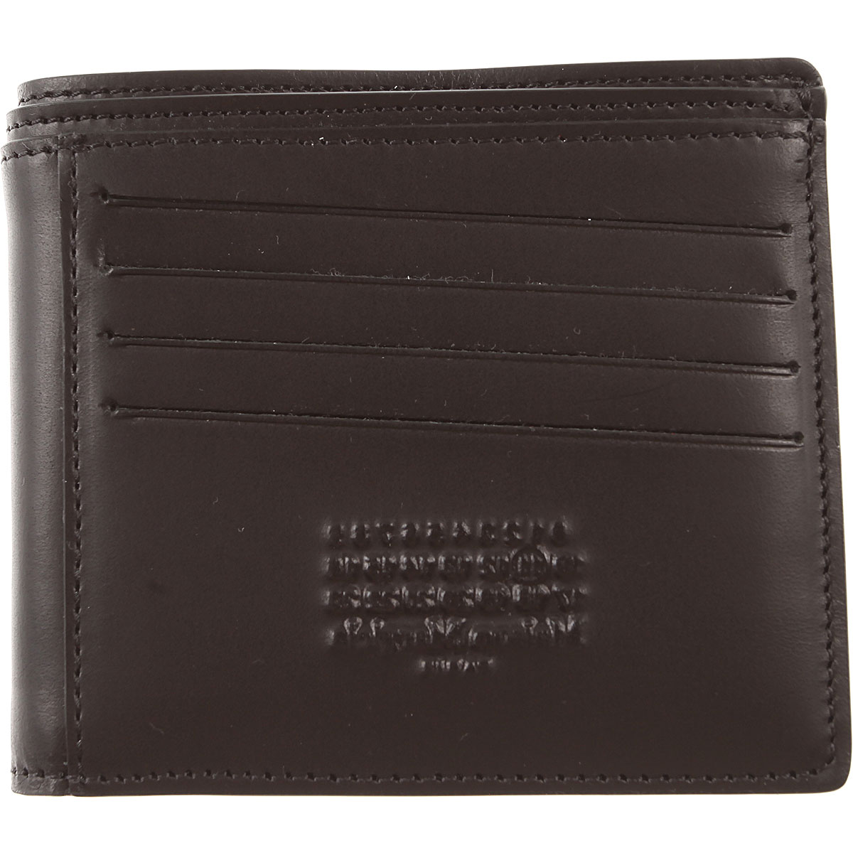 Maison Martin Margiela Wallet for Men Black USA - GOOFASH