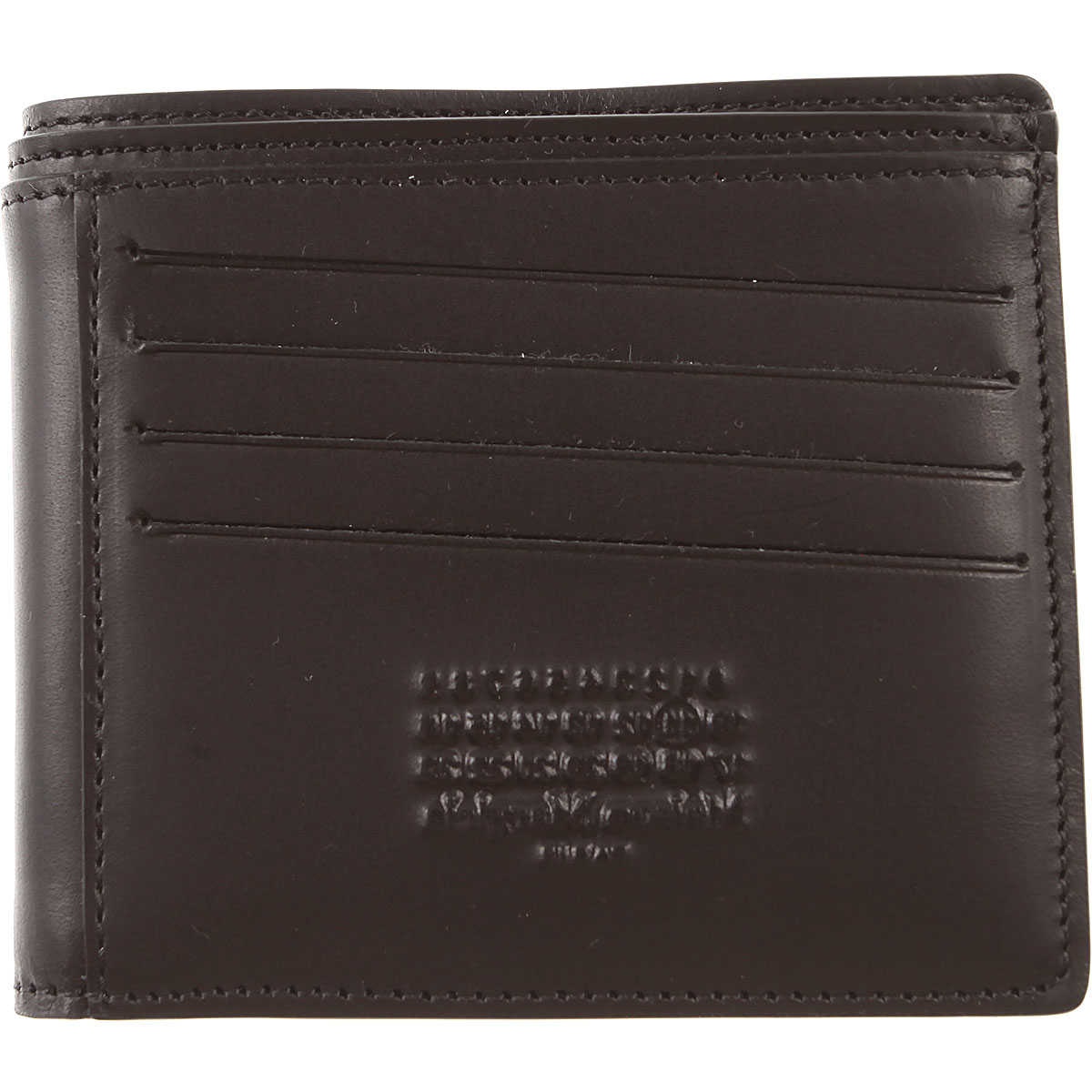 Maison Martin Margiela Wallet for Men On Sale Black SE - GOOFASH