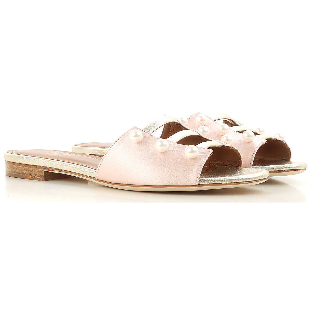 Malone Souliers Sandals for Women On Sale in Outlet Pink SE - GOOFASH