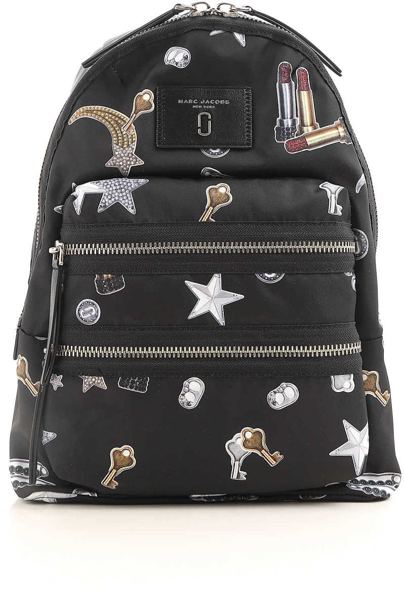 Marc Jacobs Backpack for Women Biker Tossed Charms Print  SE - GOOFASH
