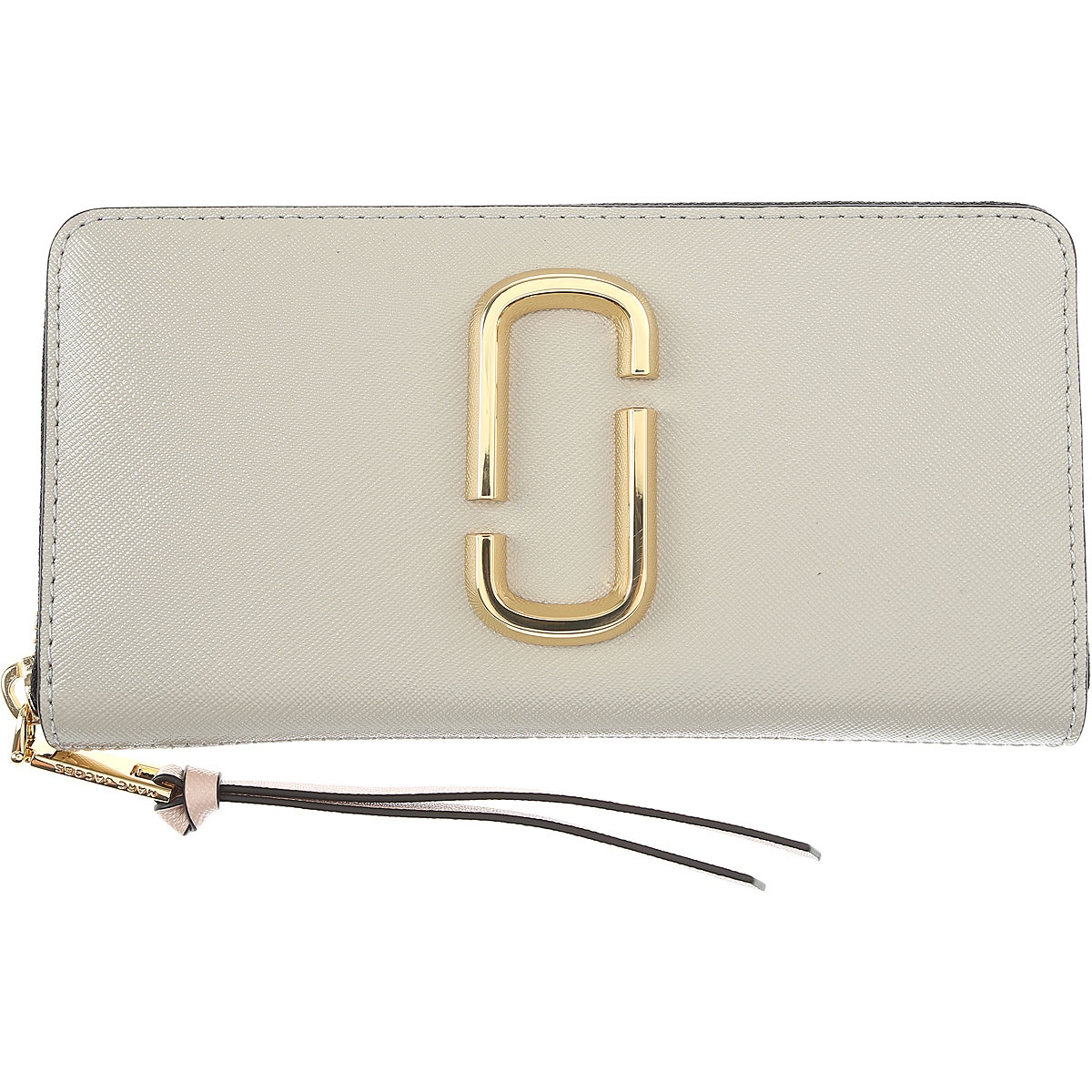 Marc Jacobs Wallet for Women Pearl Grey USA - GOOFASH