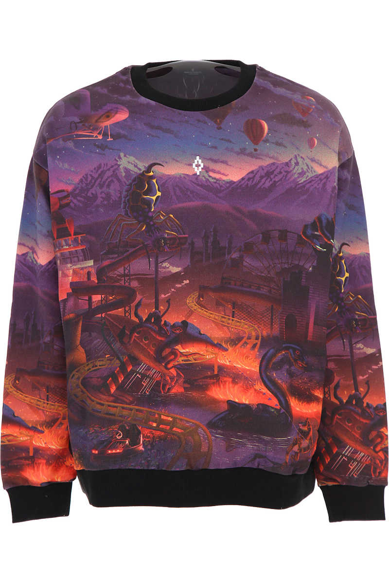 Marcelo Burlon Sweatshirt for Men Violet SE - GOOFASH