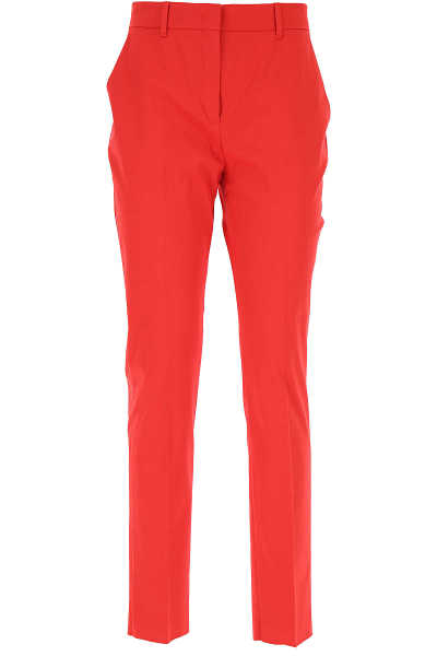 Max Mara Pants for Women Red USA - GOOFASH