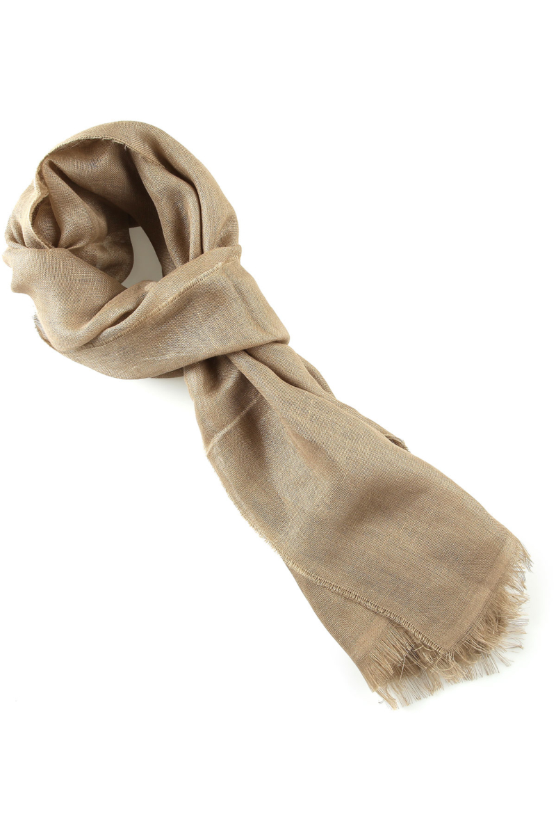 Max Mara Scarf for Women On Sale Leather Brown SE - GOOFASH