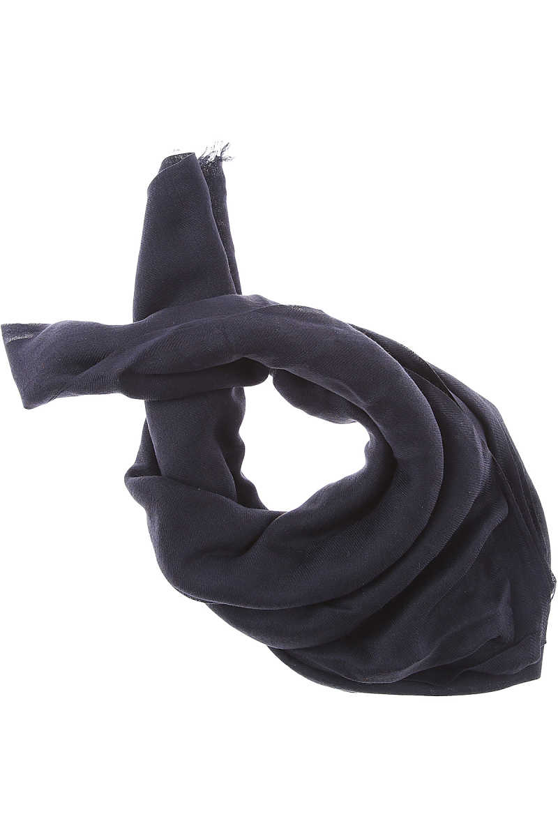 Max Mara Scarf for Women On Sale in Outlet Dark Navy Blue SE - GOOFASH