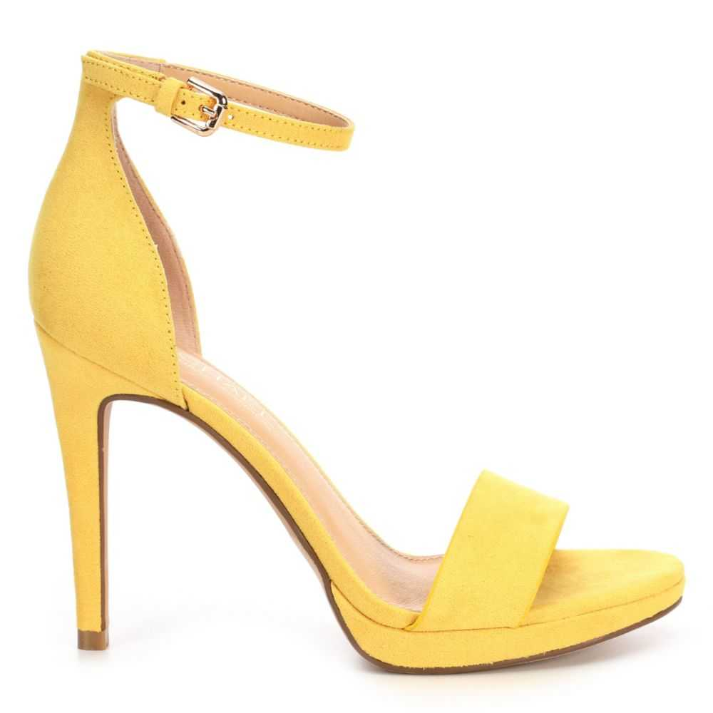 Michael By Shannon Womens Angelica Yellow USA - GOOFASH -