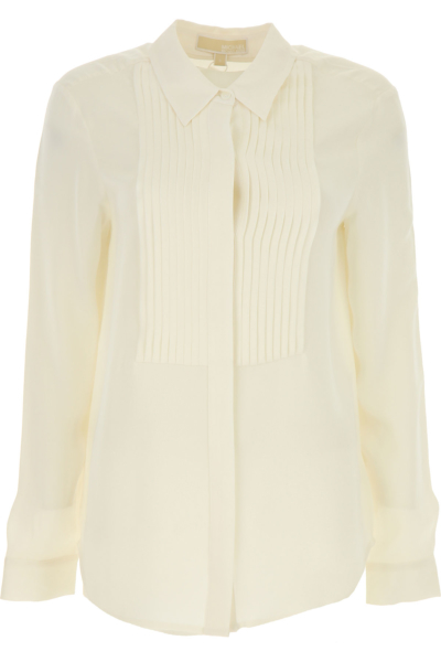 Michael Kors Shirt for Women On Sale in Outlet Ivory SE - GOOFASH