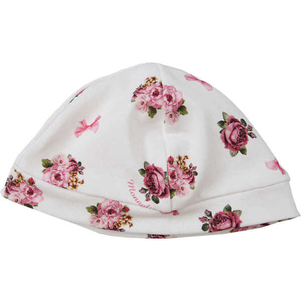 Monnalisa Baby Hats for Girls White USA - GOOFASH