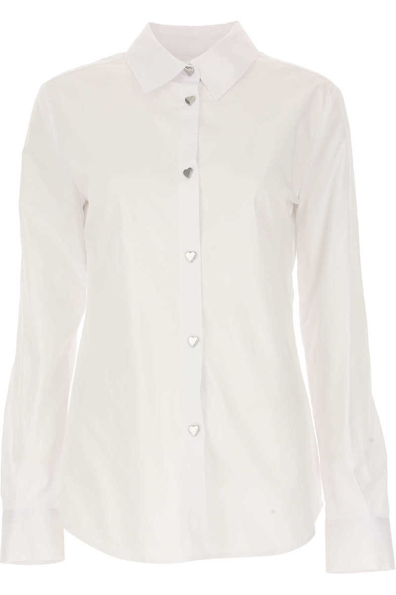 Moschino Shirt for Women in Outlet White USA - GOOFASH