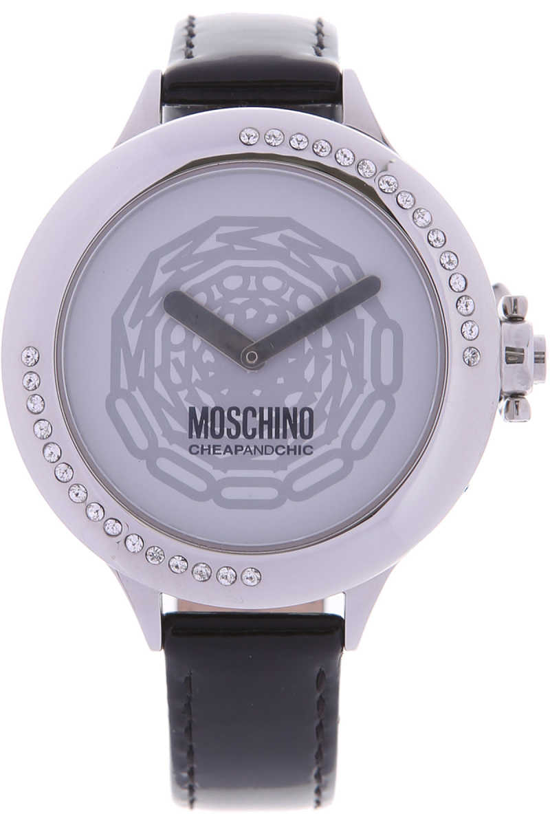 Moschino Watch for Women On Sale in Outlet Black SE - GOOFASH