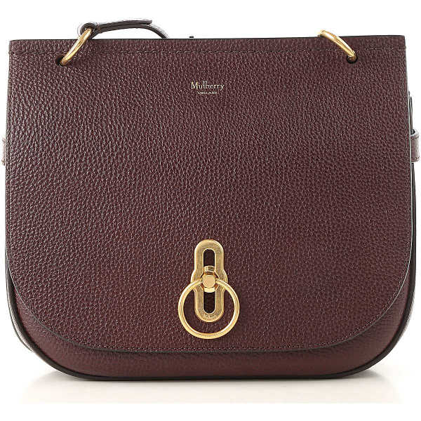 Mulberry Shoulder Bag for Women Bordeaux USA - GOOFASH