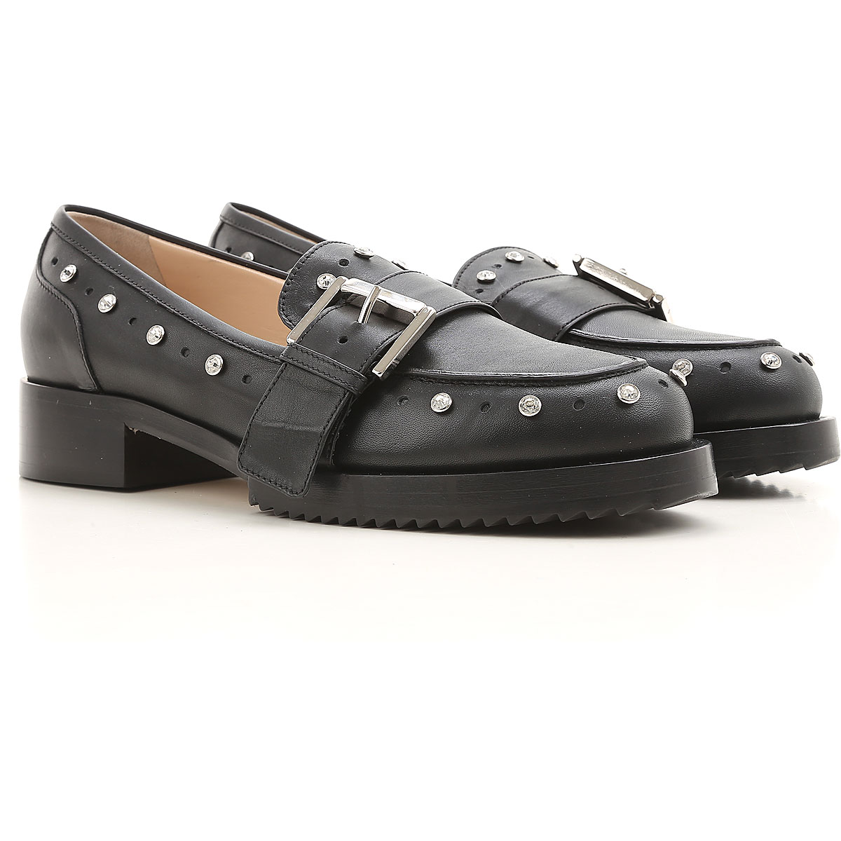 NO 21 Loafers for Women in Outlet Black USA - GOOFASH