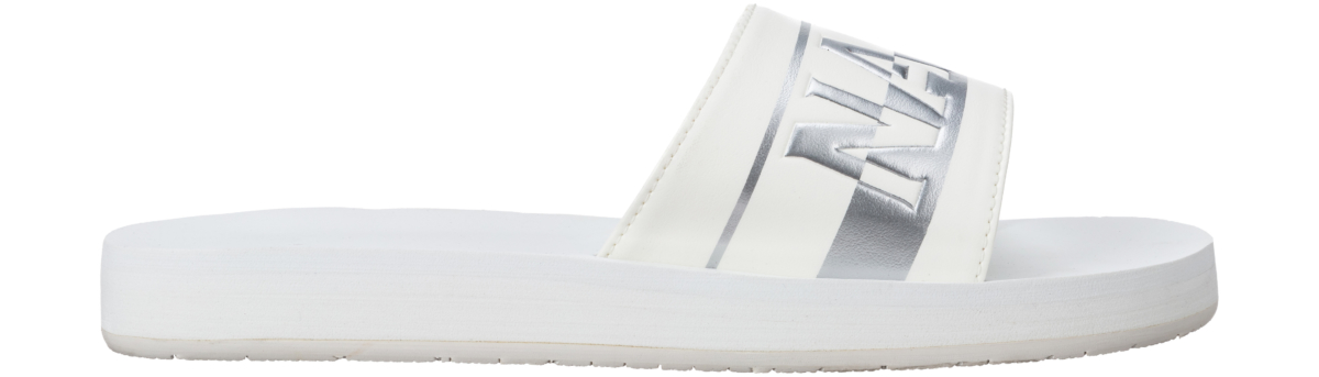Napapijri Ariel Slippers White UK - GOOFASH