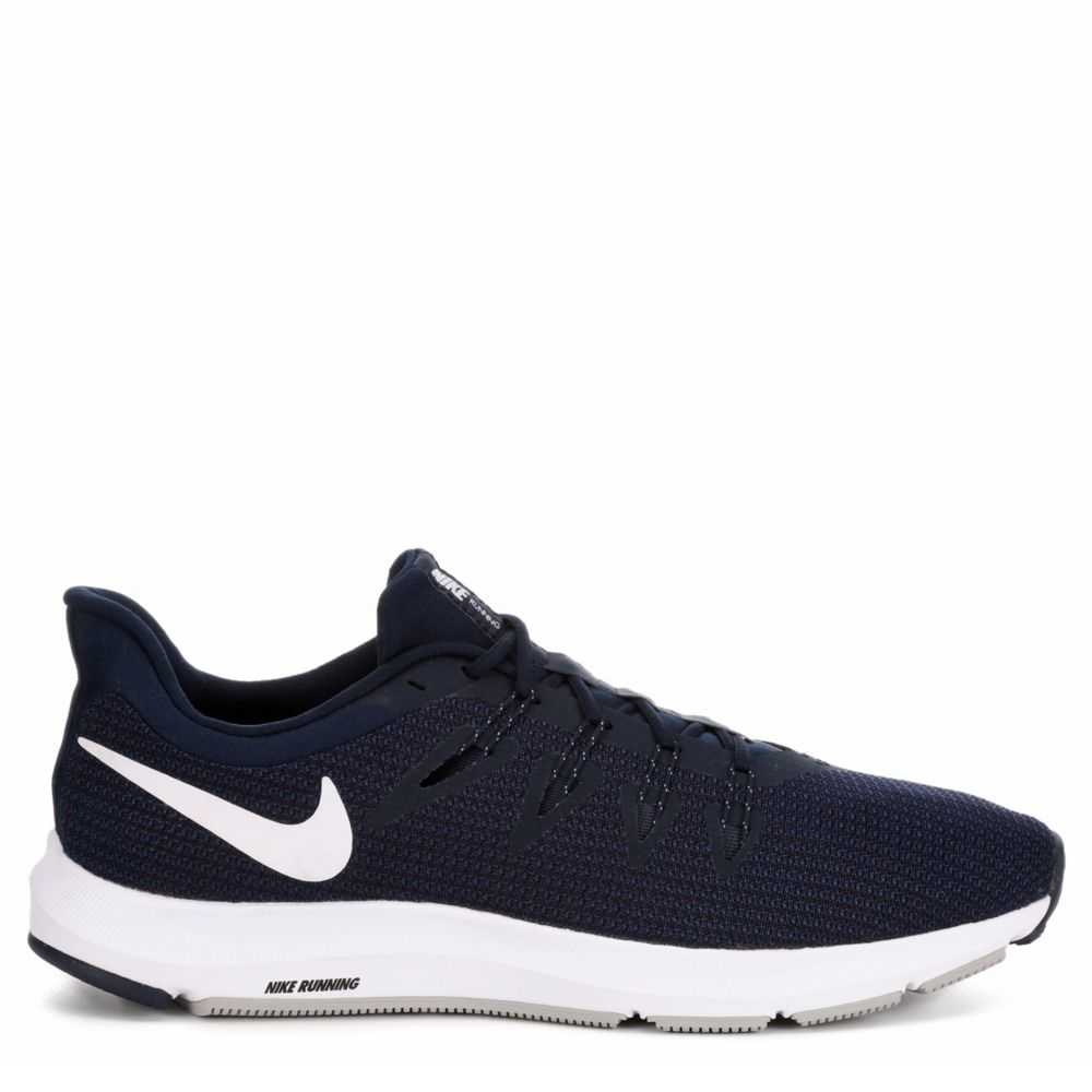 Nike Mens Quest Running Sneakers  Navy USA - GOOFASH