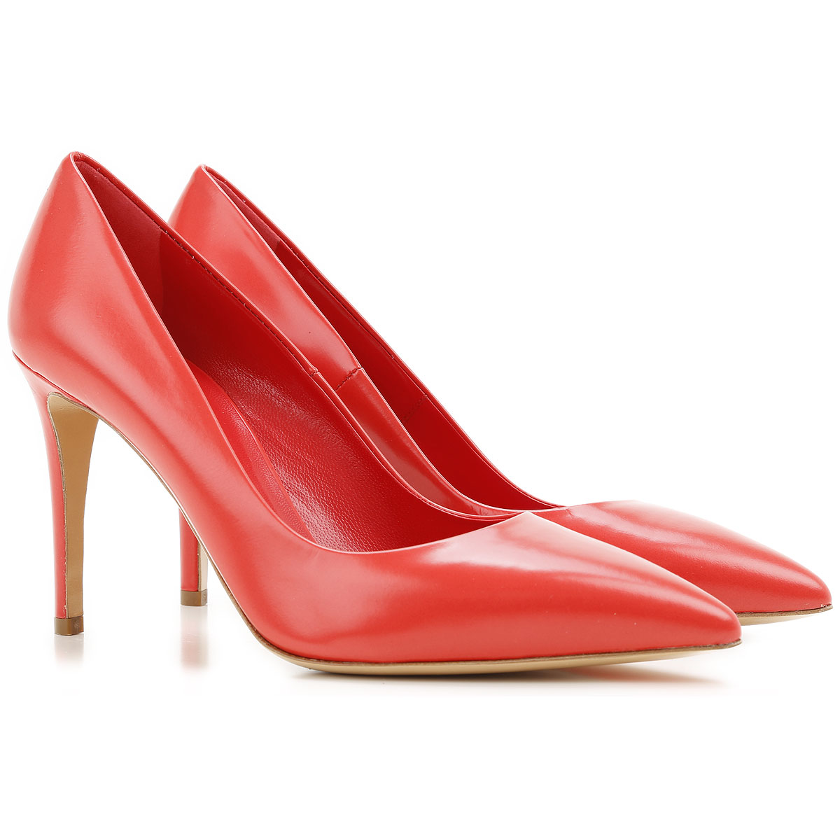 Nina Lilou Pumps & High Heels for Women in Outlet Tomato Red USA - GOOFASH