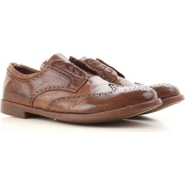Officine Creative Lace Up Shoes for Men Oxfords Derbies and Brogues On Sale USA - GOOFASH