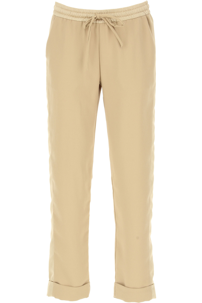 P.A.R.O.S.H. Pants for Women Beige USA - GOOFASH