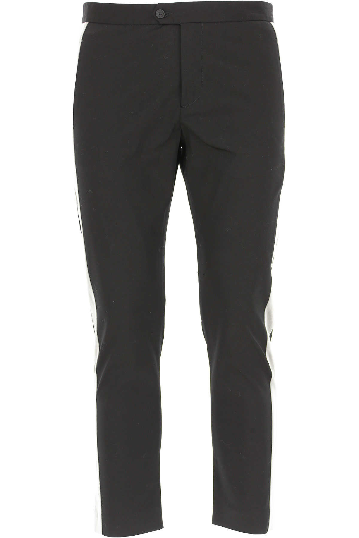 Palm Angels Pants for Men in Outlet Black USA - GOOFASH